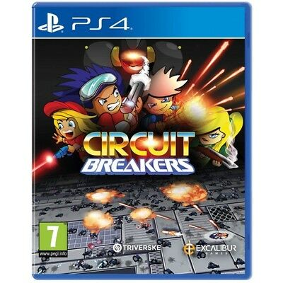 Circuit Breakers Sony PS4 PlayStation 4 Game Action RPG Aust Multiplayer Fun
