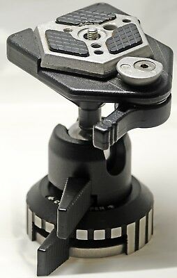 Bogen/Manfroto model 168 ball head w quick release - very clean and rugged
