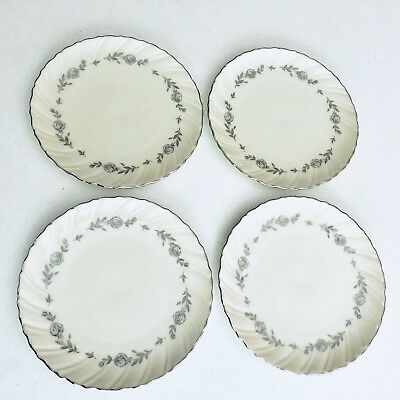 4 Rosemont by Lenox H522 China Salad Bread Dessert Plate Replacement Dishes USA