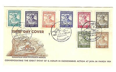 Indonesia,23X  Mainly Unaddressed First Day Covers.1954/55/56/58/59/60/63/67/69.
