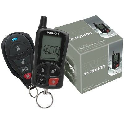 PYTHON 5305P 5305P  LCD Security & Remote-Start W/.25-Mile Range & 2 Remotes