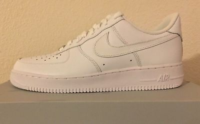 Nike Air Force 1 07' Low Shoes White/White 315122-111 Classic AF1 Men's Size