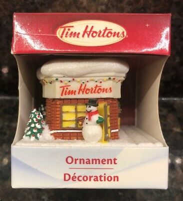 2012 Tim Horton Limited Edition Collectible Christmas Ornament New in Box