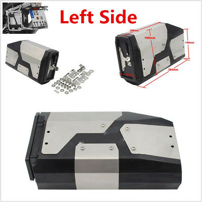 1x Motorcycle Decorative Box Toolbox For BMW R1200GS 2004-2018 Left Side Bracket