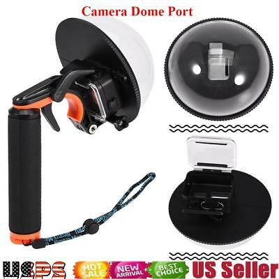 """For Gopro Hero 5 6"""" Black Dome Port Camera Lens with Floaty Handle & Trigger USA"""