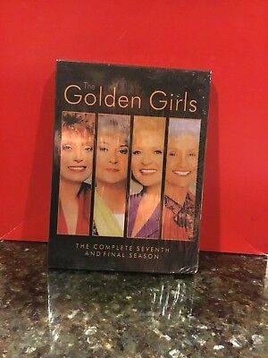NEW The Golden Girls Complete 7th & Final Season (DVD, 3 Disc/Deluxe Outer Sl.