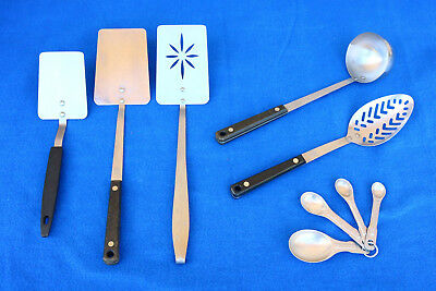 Lot Vintage Ekco & Regent Sheffield Used Assorted Kitchen Utensil Tools