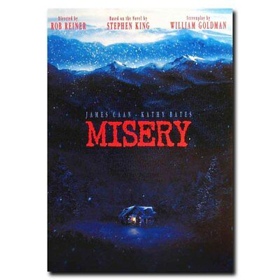 Misery 12x18 24x36inch 90's Classic Horror Movie Silk Poster Art Print Decor