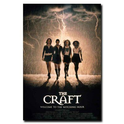 The Craft 12x18 24x36inch 90's Classic Horror Movie Silk Poster Wall Decoration