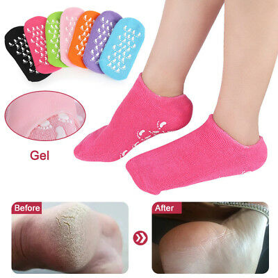 1 Pair Gel Socks Moisturize Soft Repair Cracked Skin Spa Moisturizing Treatment