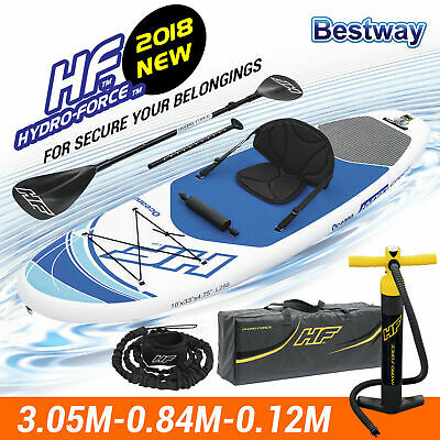 Bestway 2 in 1 Persons Inflatable Kayak Canoe Raft Surfboard Hydro-Force 65303