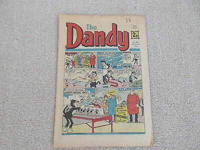 THE DANDY COMIC-1974 -No 1686-16th March 1974- GOOD CONDITION- LIKE BEANO
