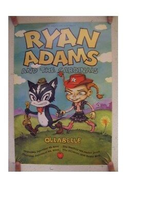 Ryan Adams and The Cardinals Poster Fillmore Ollabelle &