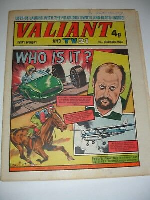 VALIANT And TV 21 comic 15th December 1973