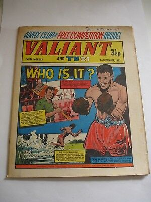 VALIANT And TV 21 comic 1st December 1973
