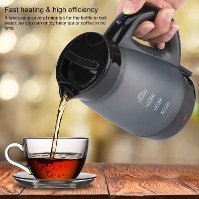Portable 0.4-L Electric Kettle Mini Travel Water Cups Kitchen Tool EU Plug 220V