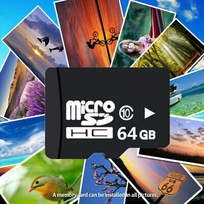 64GB Memory Micro SD Speicherkarte + Adapter SD SDHC Karte Class 10 UNIVERSAL PC