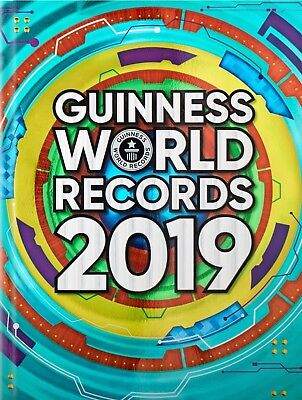Guinness Book of World Records 2019 Annual Hardback