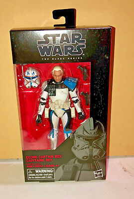 Star Wars Hasbro The Black Series Clone Captain Rex 6-Inch Action Figure New