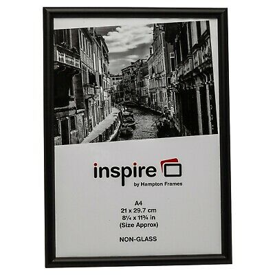 Wood A3 Certificate Poster Frame In Black, Silver Or Gold For The Home & Office