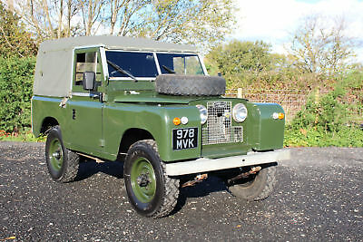 """Land Rover Series 2 88"""" Softop 1960 Galvanised Chassis"""