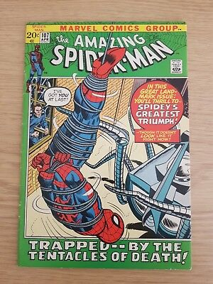 Amazing Spiderman #107 Marvel Comics - Bagged and Boarded E14