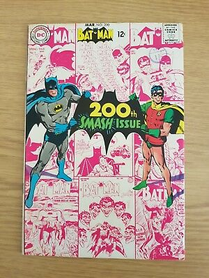Batman #200 Neal Adams Cover - Bagged and Boarded E16