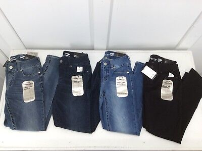 SEVEN7 Brand - Ladies Tummyless Skinny Jeans - Variety Size/Color - NWT-MSRP $69