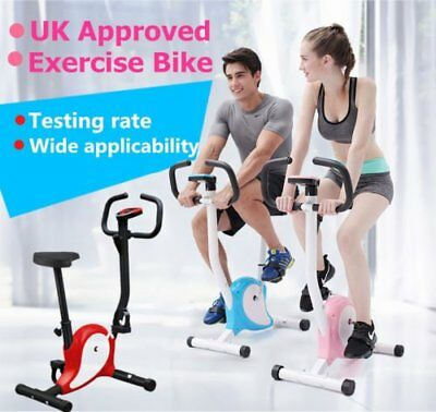 Hot Gym Fitness Exercise Bike Cycle Adjustable Resistance Cardio Workout Trainer