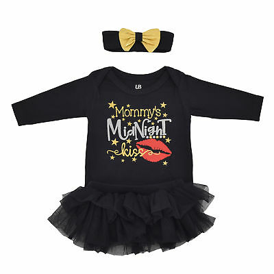 Girls New Years Eve Kiss Party Tutu Layette Boutique Toddler Kids Clothes