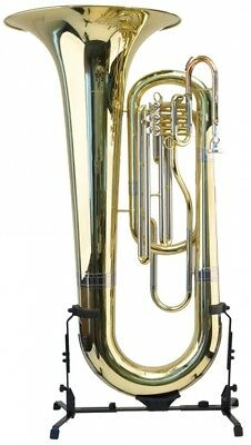 Steinbach Bb Marching Tuba Goldmessing Mundrohr 3 Ventile inklusive Koffer