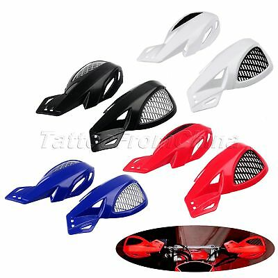 "2x 7/8"" Motorcycle Handlebar Brush Hand Guard Protector for Shadow Aero 750 2004"