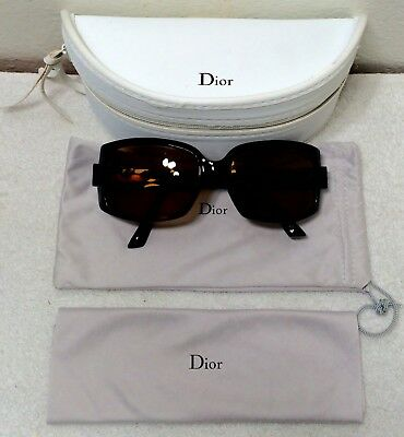 GENUINE CHRISTIAN DIOR LENSES w/ ORIGINAL CASE WOMENS DESIGNER GLASSES LADY DIOR
