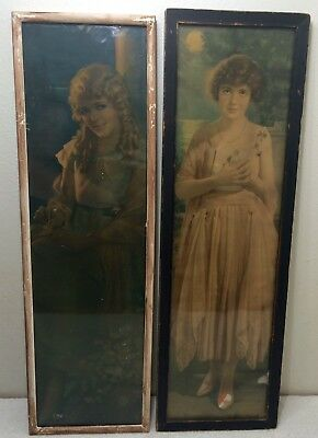 1920'S Antique Pompeian Advertising Print Of Mary Pickford Pressler Framed Usa 2
