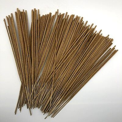 100 UNSCENTED Incense STICKS High Quality Unfragranced Neutral Natural Raw DIY