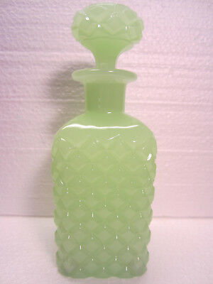 Vintage Perfume Bottle, Scent, Fancy Bottle, Antique Cologne Cut Glass Art Deco