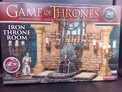 ^GAME OF THRONES BAUSET THRONSAAL^ McFarlane Toys Inkl. 2 Figuren