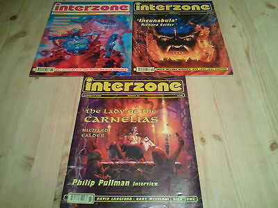 INTERZONE (SCI-FI) MAGAZINE X 3- 1ssue 158 159 161  August  - November 2000