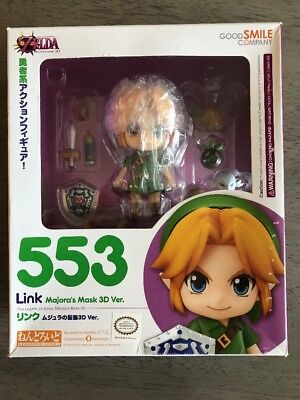 Link Majora's Mask 3D Version Good Smile Company 553 Legend of Zelda Nendroid