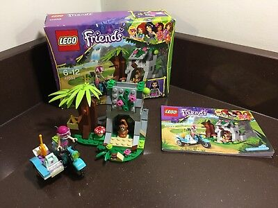 Lego Friends 41032 First Aid Jungle Bike Boxed And Complete 199
