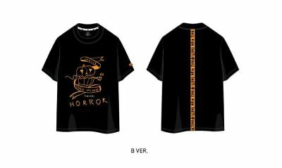 Twice Fanmeeting Once Halloween Official Goods T-Shirt T-Shirts M Size Ver. B
