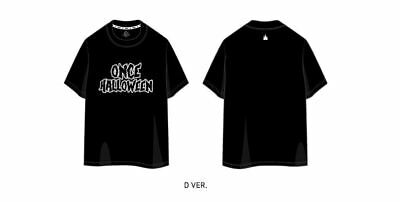 Twice Fanmeeting Once Halloween Official Goods T-Shirt T-Shirts M Size Ver. D
