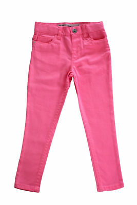Plain Skinny Jeans Cotton Trousers waist adjustable for Girls ages 4 - 14 Years
