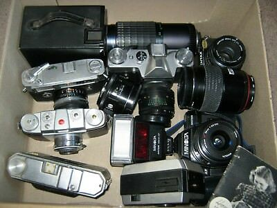 Camera Lot and lenses