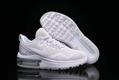 the best attitude 59f78 74d19 Mens Nike Air Max Fury 95 97 White Platinum Athletic Shoes Trainers Aa5739  100