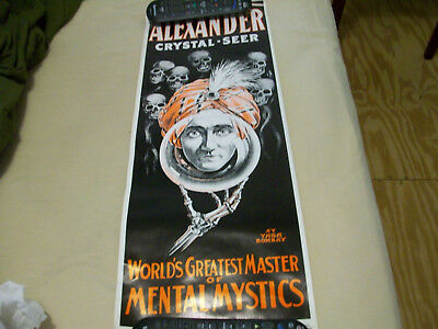 Alexander Crystal Seer (Magic Poster)