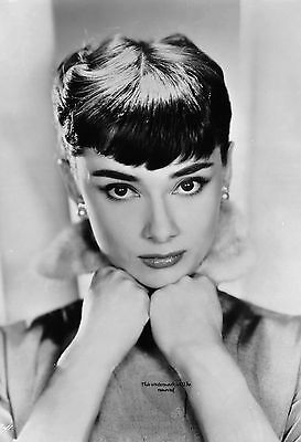 Audrey Hepburn, 8X10 & Other Size & Paper Type PHOTO PICTURE IMAGE ah73
