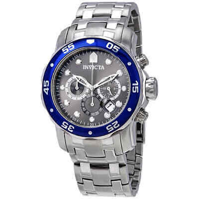 Invicta Pro Diver Chronograph Grey Dial Stainless Steel Men's Watch 80059
