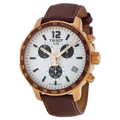 Tissot Quickster Chronograph Silver Dial Unisex Watch T095.417.36.037.01