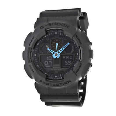 Casio G Shock Grey Dial Resin Men's Watch GA100C-8ACR